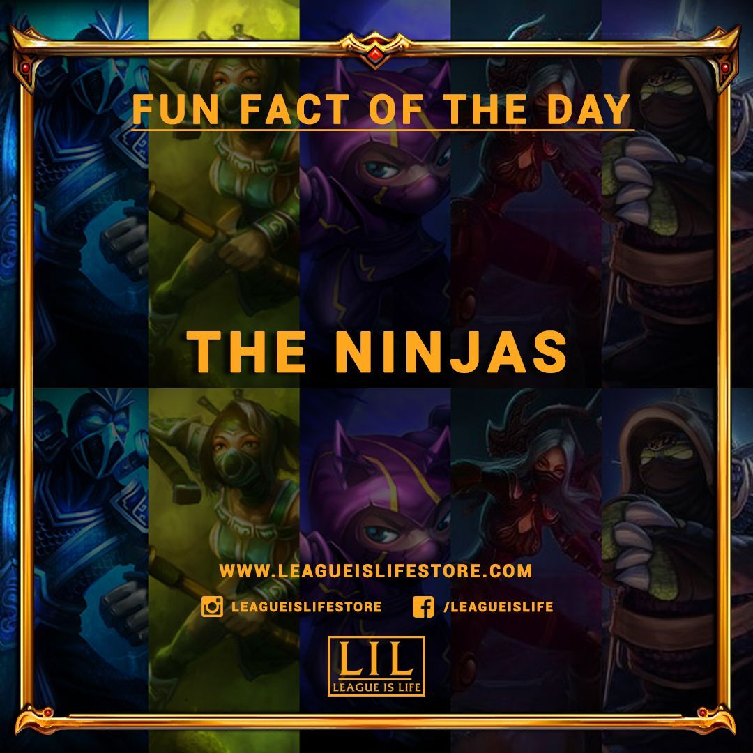 The Ninjas There Is A Hidden Passive In League Of Legends That