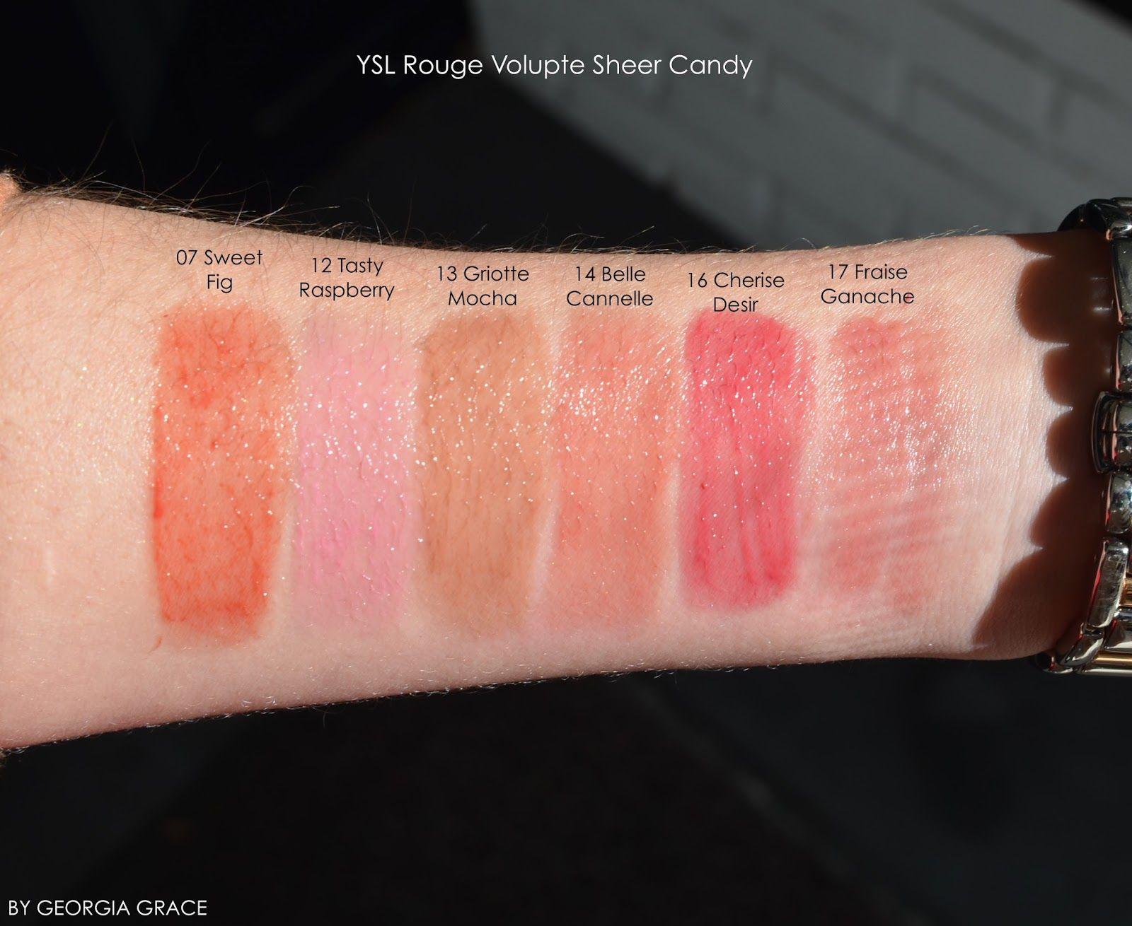YSL Rouge Volupte Shine Lipstick Coral Incandescent 12