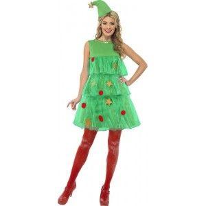 Ik Vond Dit Op Beslist Nl Dameskostuum Kerstboom Christmas