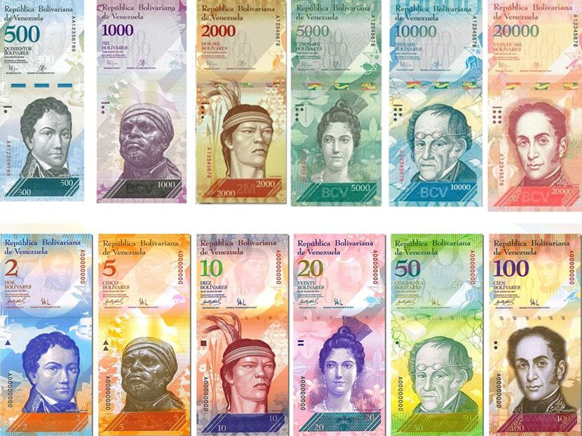 ¡LA LOCURA! Nuevos billetes son vendidos en combo por internet y hasta en dólares por ebay