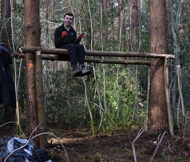 Bushcraft Survival Skills: Strong Shelters Are The Best Shelters #hiking #walking