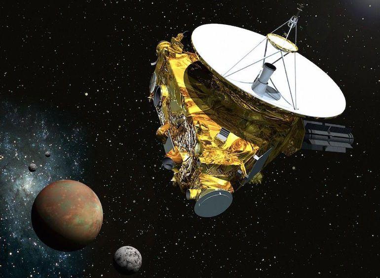 La sonde New Horizons en route vers Pluton envoie ses premières images