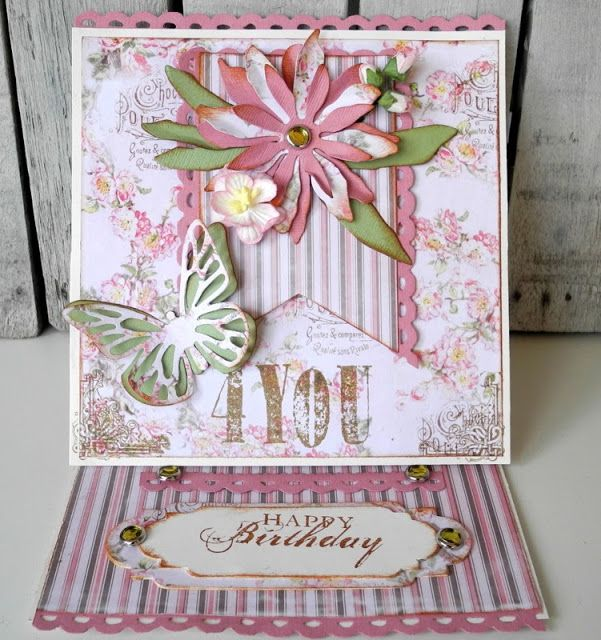 Sizzix Card Making Ideas Part - 45: Crafting Ideas From Sizzix UK: Pia Baunsgaard