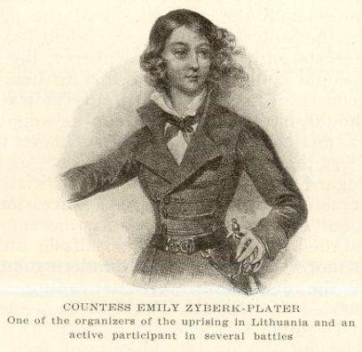 Emilia Plater (Broel-Plater) (13 November 1806 – 23 December 1831 ...