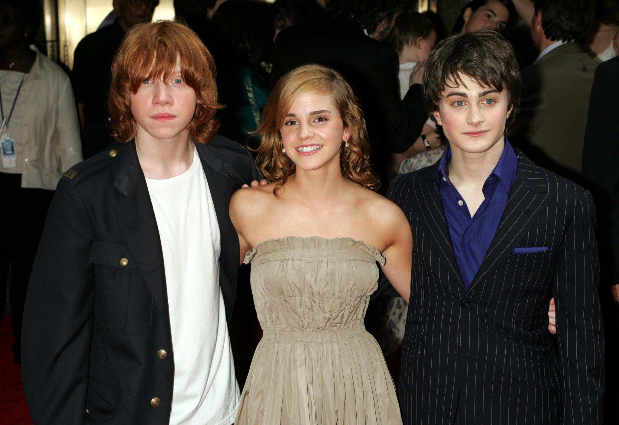 Harry Potter And The Prisoner Of Azkaban Premiere 2004 Emma Watson Harry Potter Daniel Radcliffe Harry Potter Harry Potter Voldemort