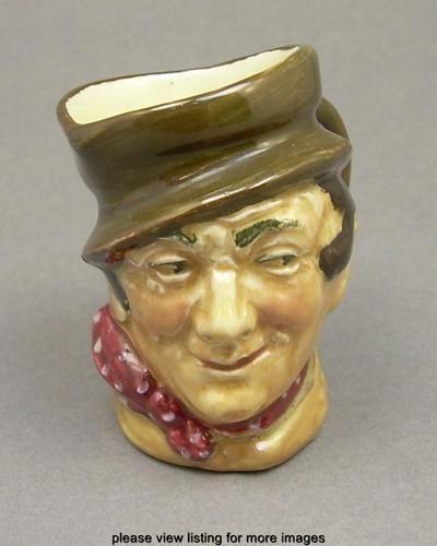 Vintage Royal Doulton Sam Weller Dickens Character Porcelain Toby Jug A Mark   eBay