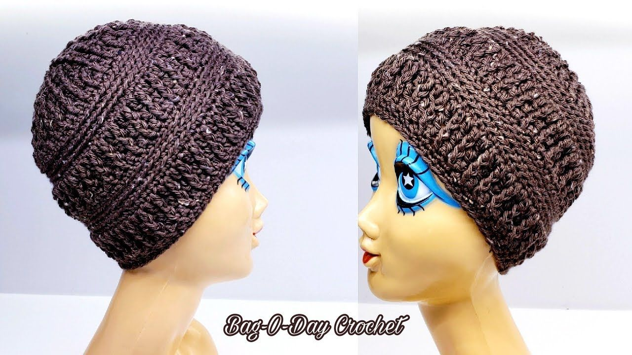 How To Crochet A Beanie Hat  3ed0d1853ad