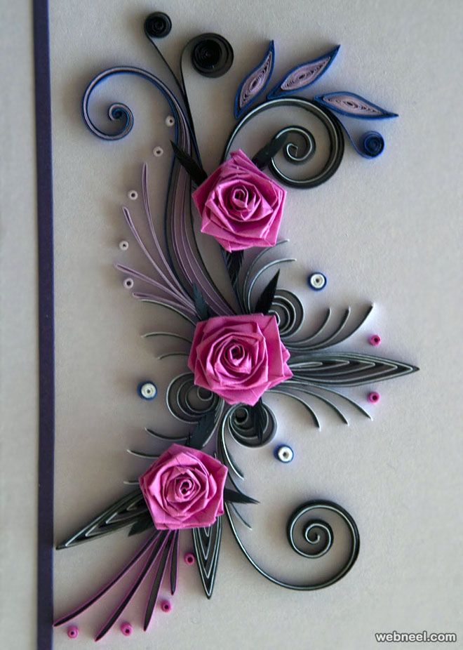 25 beautiful quilling flower designs and paper quilling cards quilling roses quilled roses neli quilling quilling flowers paper flowers quilled paper mightylinksfo
