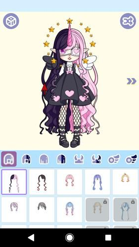 Magical Girl Dress Up Magical Monster Avatar Android 1.1