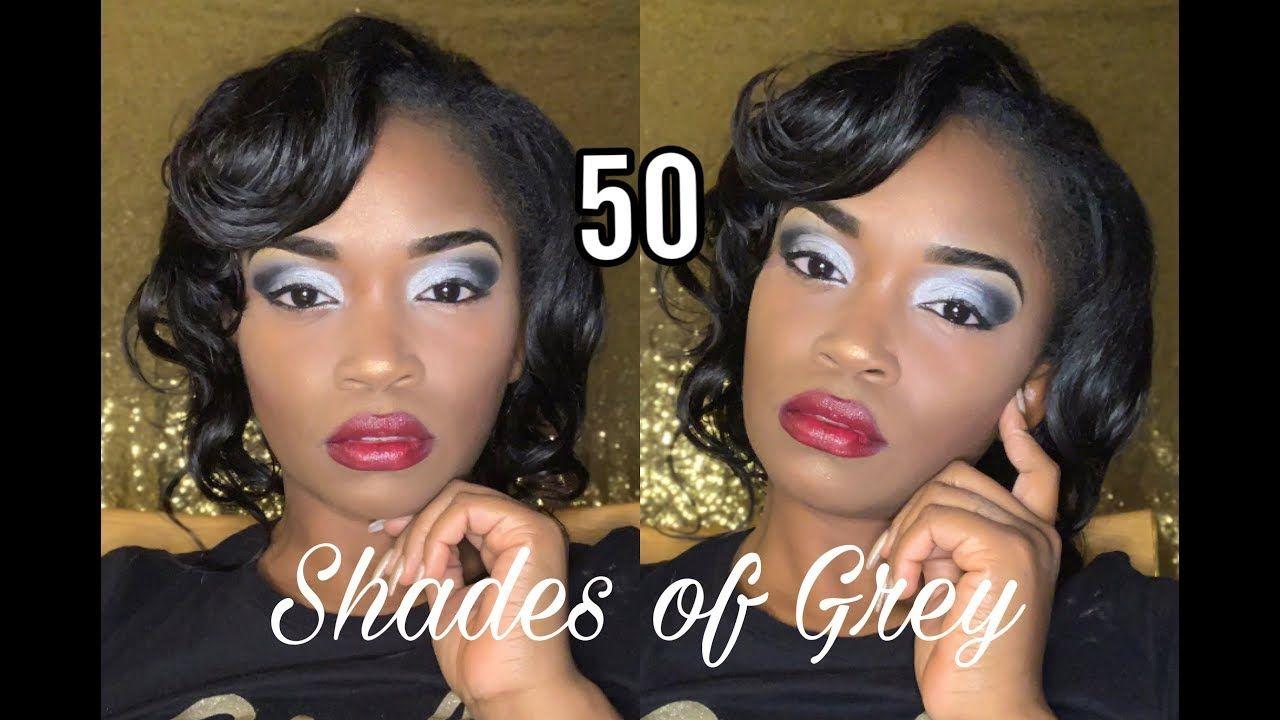 50 Shades Of Grey Makeup Tutorial YouTube in 2020 Grey