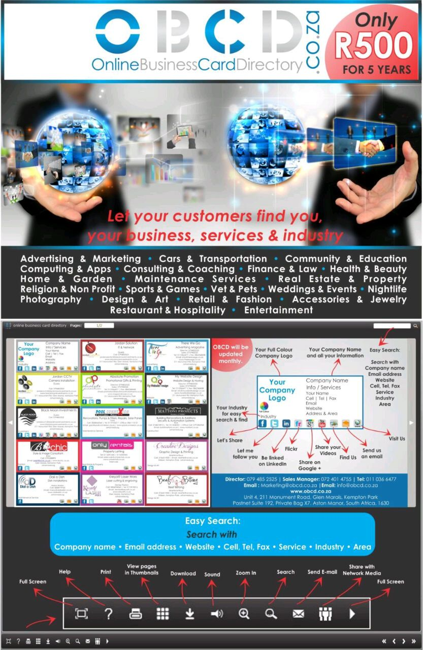 Online business card directory card pinterest online business online business card directory reheart Images