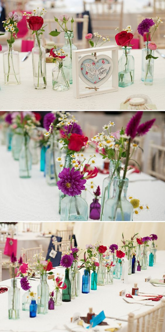 Flowers-in-bottles