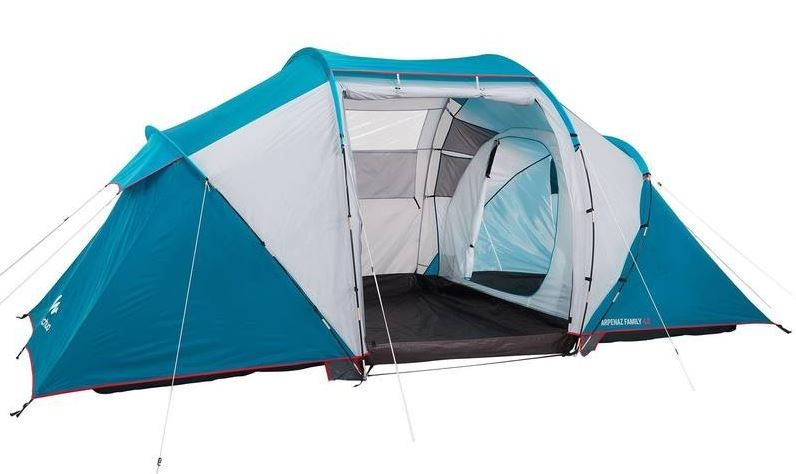 c5f96bea3 ... Camping Decathlon Tiendas ~ Quechua arpenaz family person family  camping tent blue ...