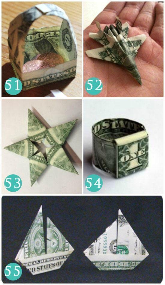 How to Fold a Dollar Bill Into an Origami Heart | HGTV | 950x550