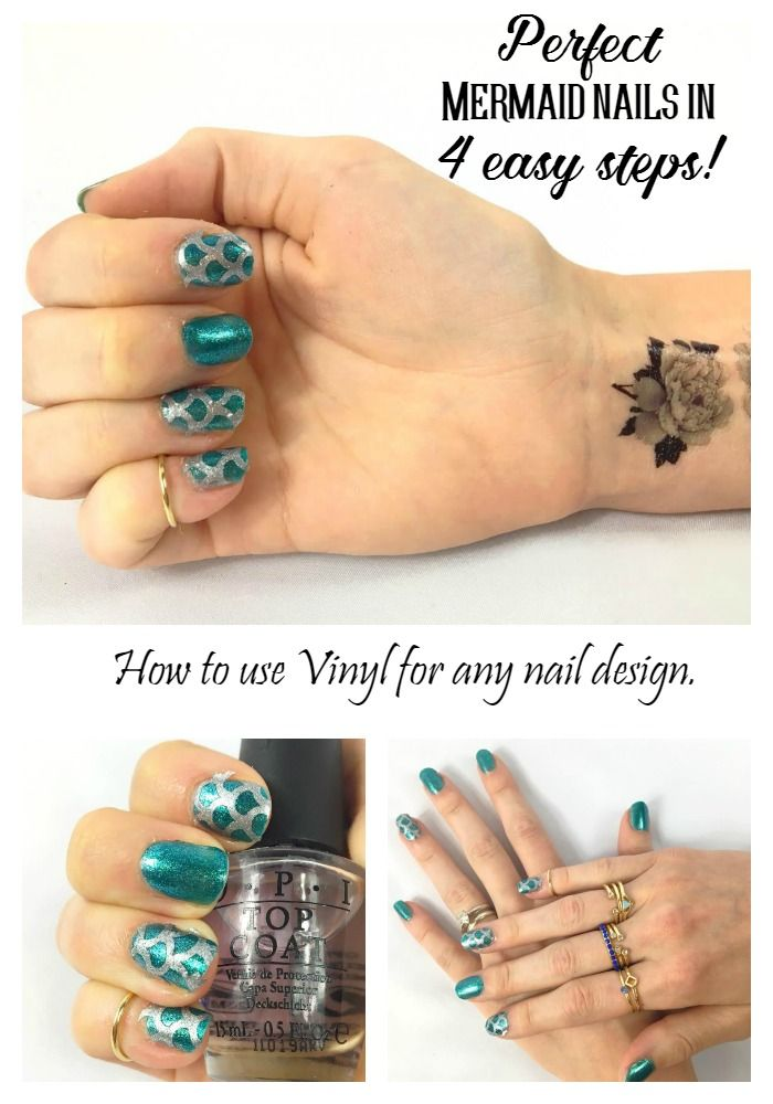 Use your vinyl and cutting machine to create easy fun nail designs ...
