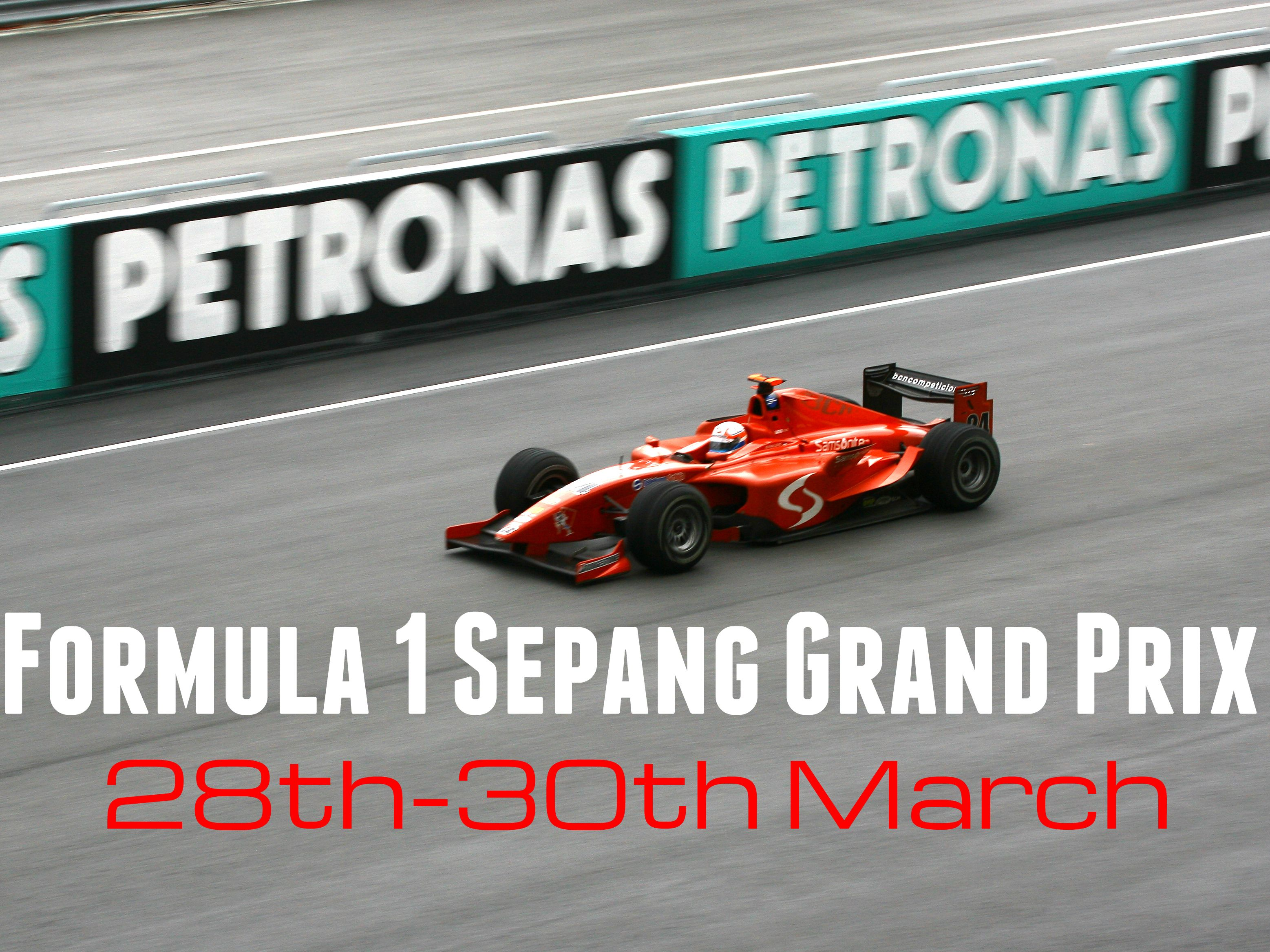 The Formula 1 Sepang, Malaysia, Grand Prix is up next, running from the 28th-30th March at Sepang International Circuit, Selangor. The extreme weather conditions of Malaysia are sure to make this one of the most exciting events of the year – if you're a fan of adrenaline pumping action then this is for you. You can book this through our sister company Global Sports Travel (MD Allan Lamb).  Contact Global Sports Travel on 020 7843 3522.