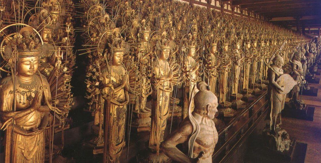 kyoto buddhas - Google Search