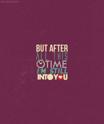 #newmusic #Paramore #imstillintoyou