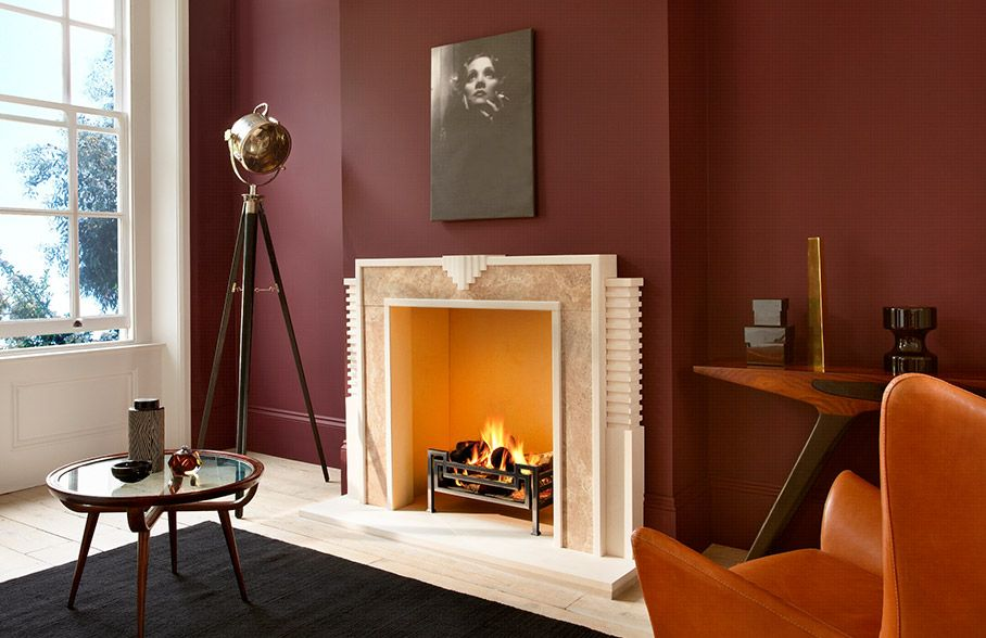 how to pick the perfect fireplace flaming pinterest art deco rh pinterest com