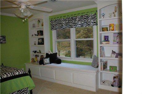 Bench Toy Box Storage Under Window Between Built In Bookshelves Home Design Decor Kids Bedroom Storage Bookshelves Built In