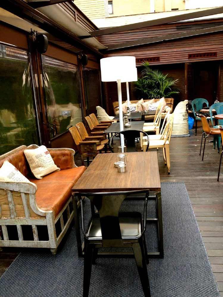 Diseño Decoración Interiores Terraza Restaurante La Misión