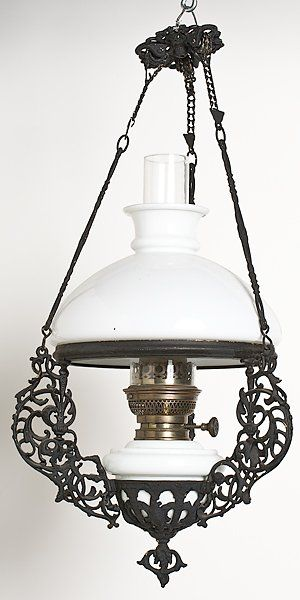 Hanging Lamp In 2019 Painting Lamps Antique Oil Lamps