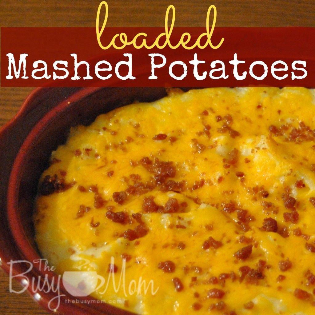 Loaded Mashed Potatoes Hometown Christmas Gooseberry