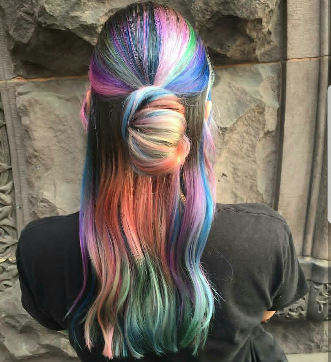 Pin by morgan crawford on hair pinterest dye hair and coloured hair