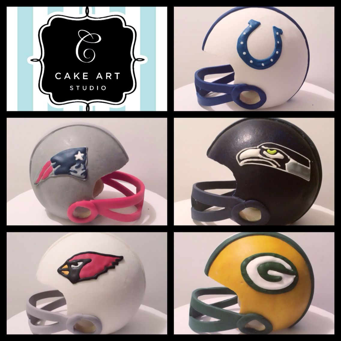 Now you can find your favorite team cookie Helmet at AJ's
