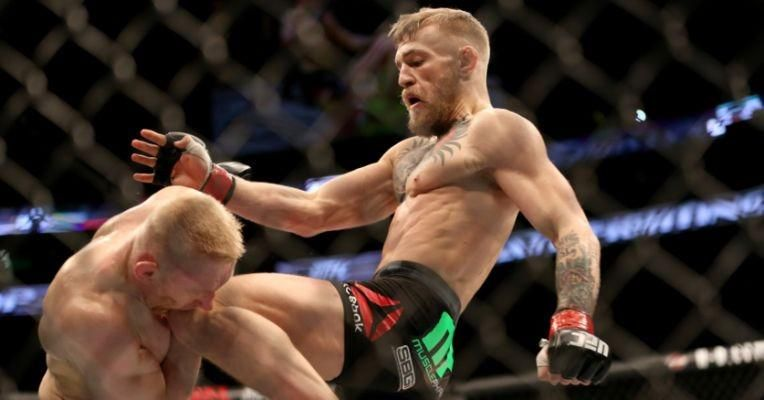 The Royal Knee of Conor McGregor being kissed by Denis Siver : if you love #MMA, you will love the #MixedMartialArts and #UFC inspired gear at CageCult: http://cagecult.com/mma