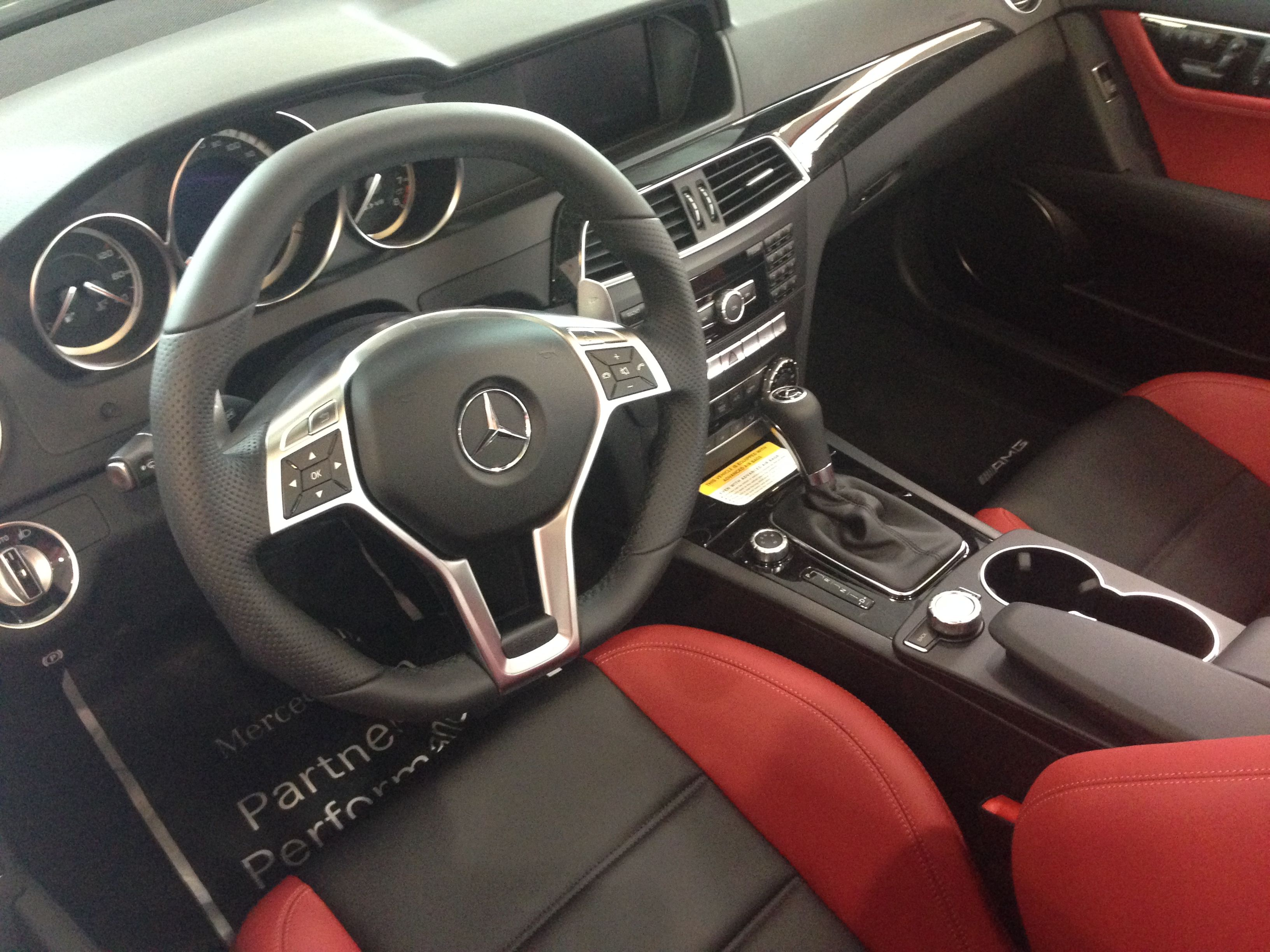 Red Hot Interior Of The 2014 C63 Amg Amg Red Hot Hot