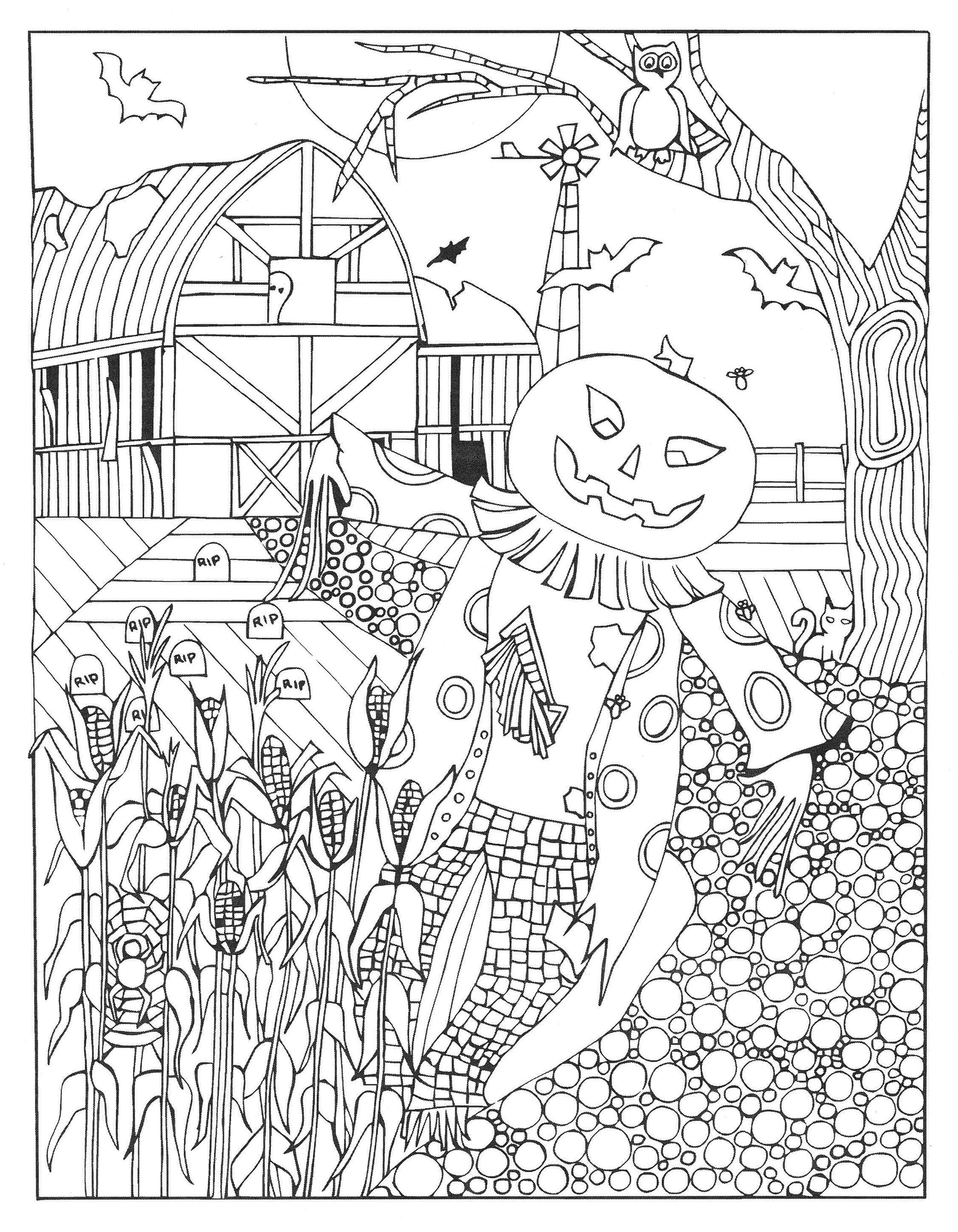 Haunted Treasure Hunt Coloring Book