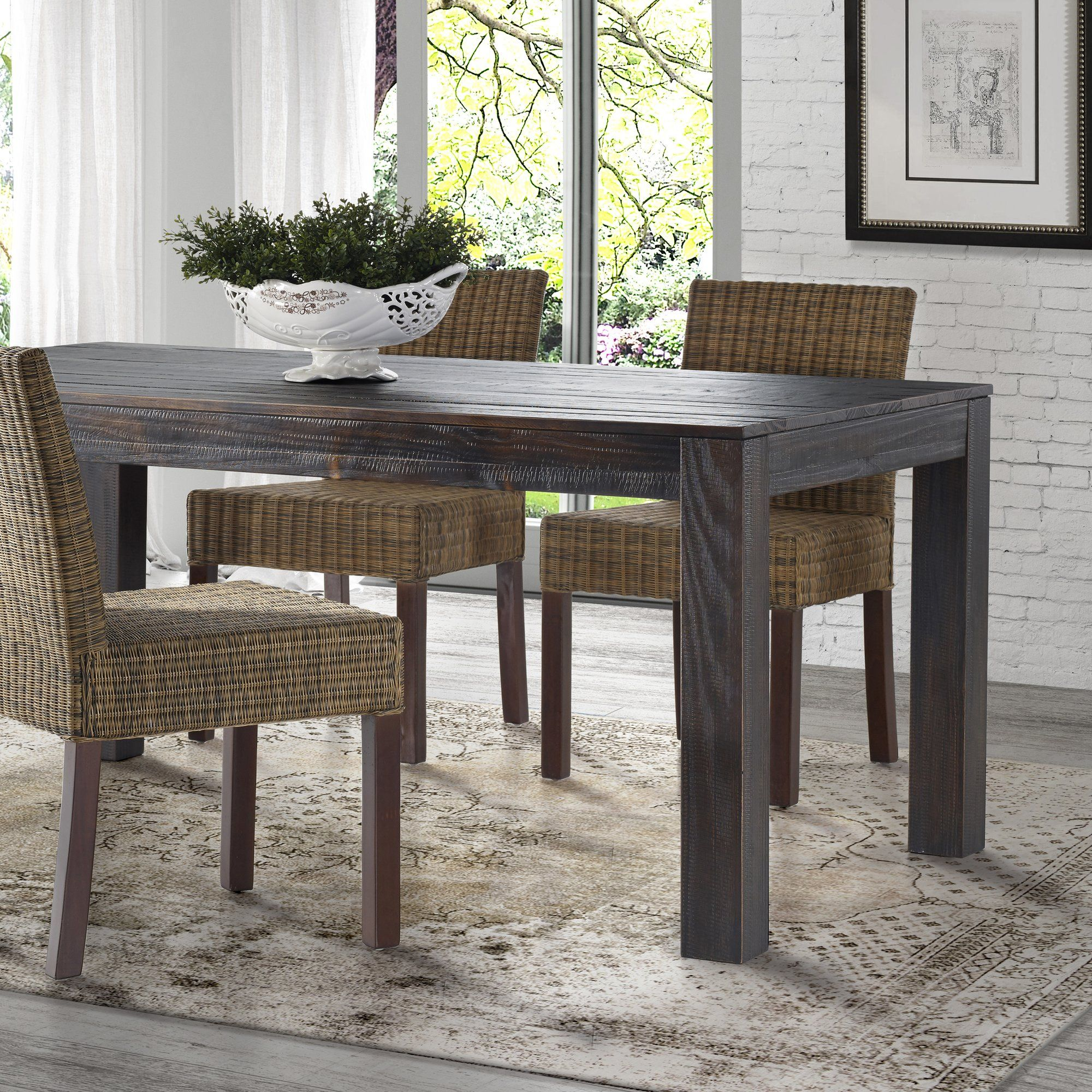 montauk solid wood pine dining table solid wood dining on solid wood dining table id=20050