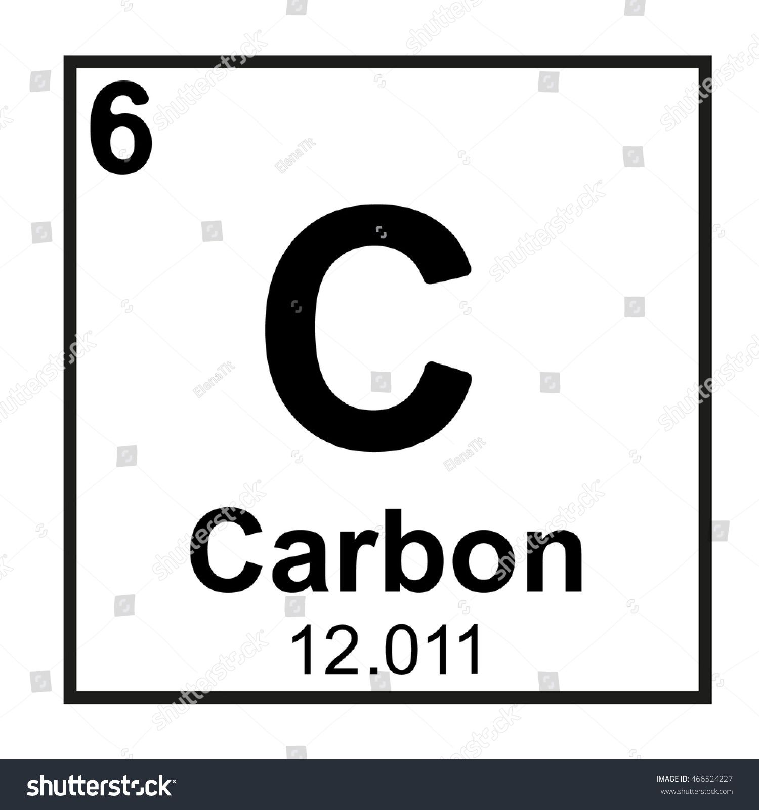 Carbon In Periodic Table