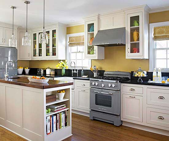 This Is The Best Way To Arrange A Small Kitchen Kitchen Design Traditional Kitchen Design Small Kitchen