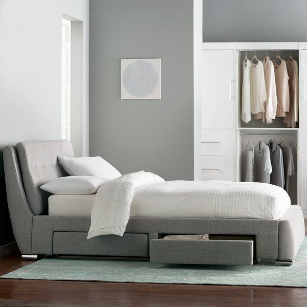 Utley Storage Platform Bed (With images) | Platform bed ...