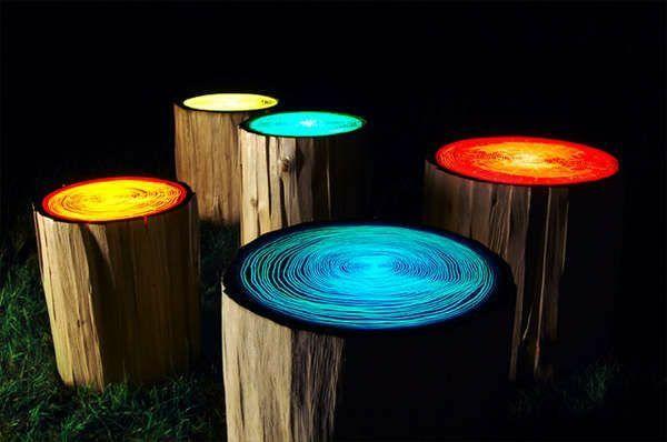 innovative mobel sind an sich ein tolles diskussionsthema kennen sie die innovation bei welcher leuchtende mobel aus holz entstehen mobel konzept von
