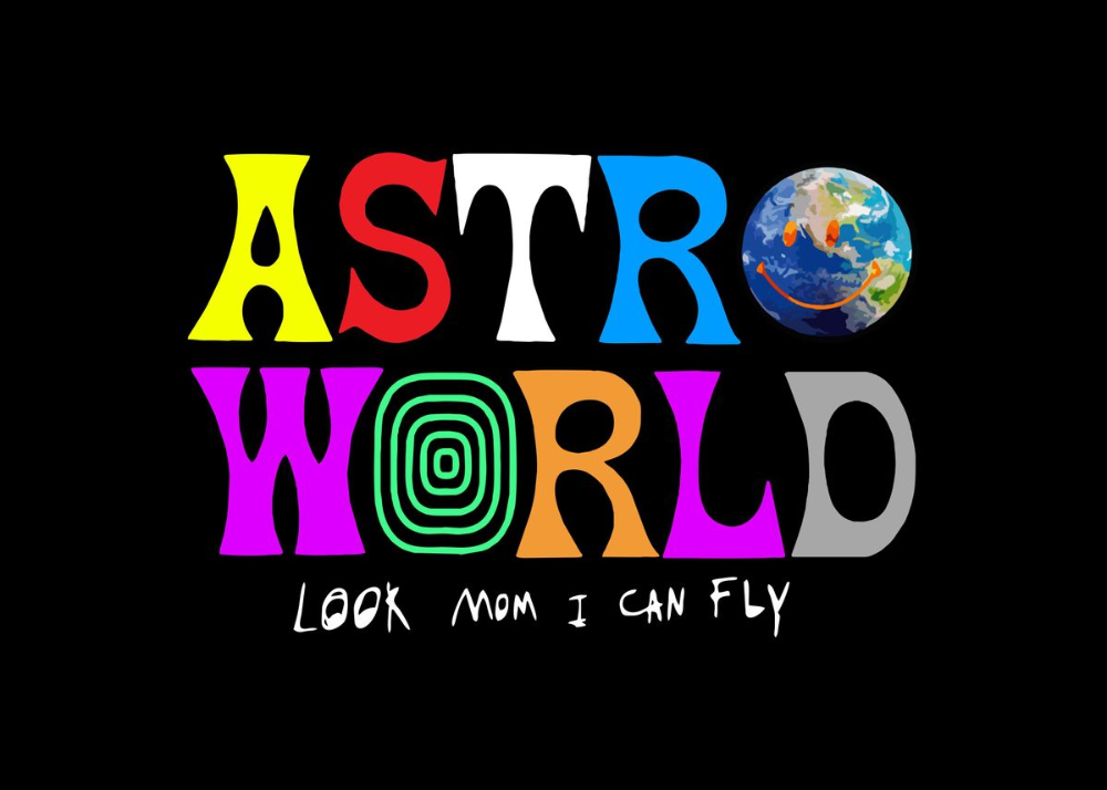 Look Mom I Can Fly Astro Poster Print By Memories Poster Displate Astro World Travis Scott Travis Scott Iphone Wallpaper Art Collage Wall