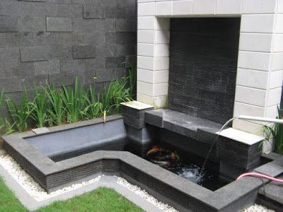 desain kolam ikan minimalis | kolam ikan, desain, kolam