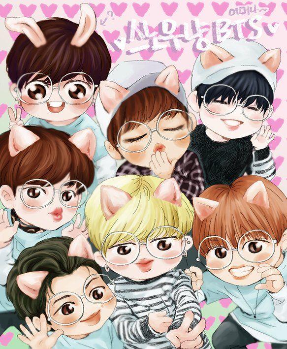 Kpop Bts And Bangtan Image Anime Wallpaper Infinity Fan