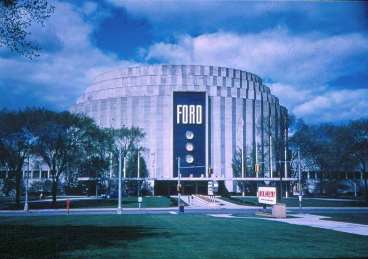 This Is The Iconic Ford Rotunda Which Is Depicted In The Youtube Video On My Other Pin Sadly It Was Destroyed By F Michigan Travel Dearborn Michigan Dearborn