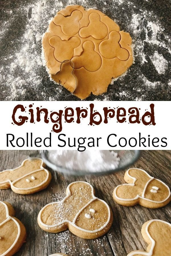 Gingerbread Sugar Cookies Soft and chewy Gingerbread Sugar Cookies are a delicious rolled sugar cookie recipe with a hint of gingerbread spices The perfect Christmas cook...