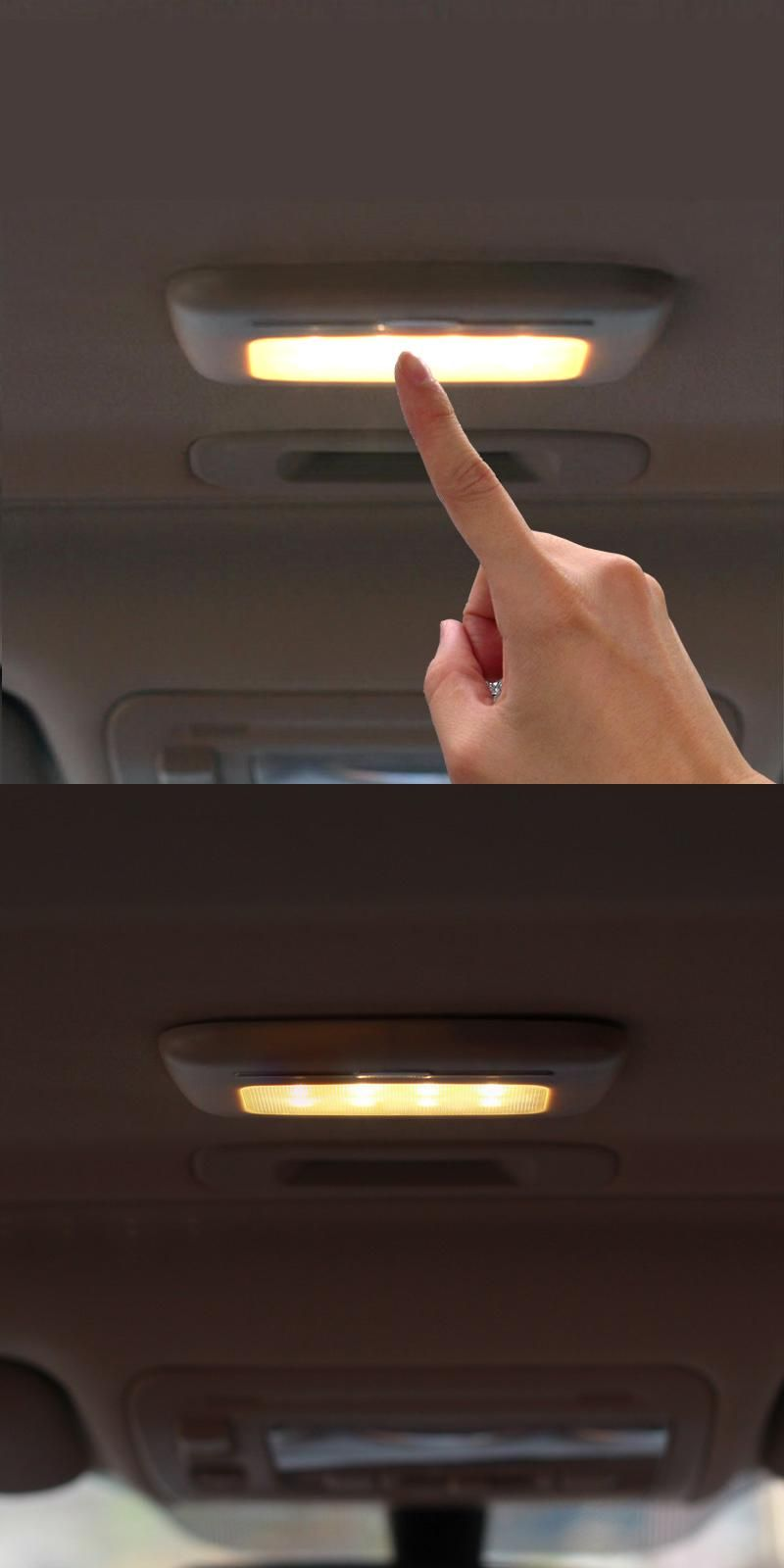 Led White Car Reding Lamp Vehicle Indoor Roof Ceiling Lamp Interior Decorative Square Dome Reading Light Car Styling Qp17 Roof Ceiling Reading Light Car Lights