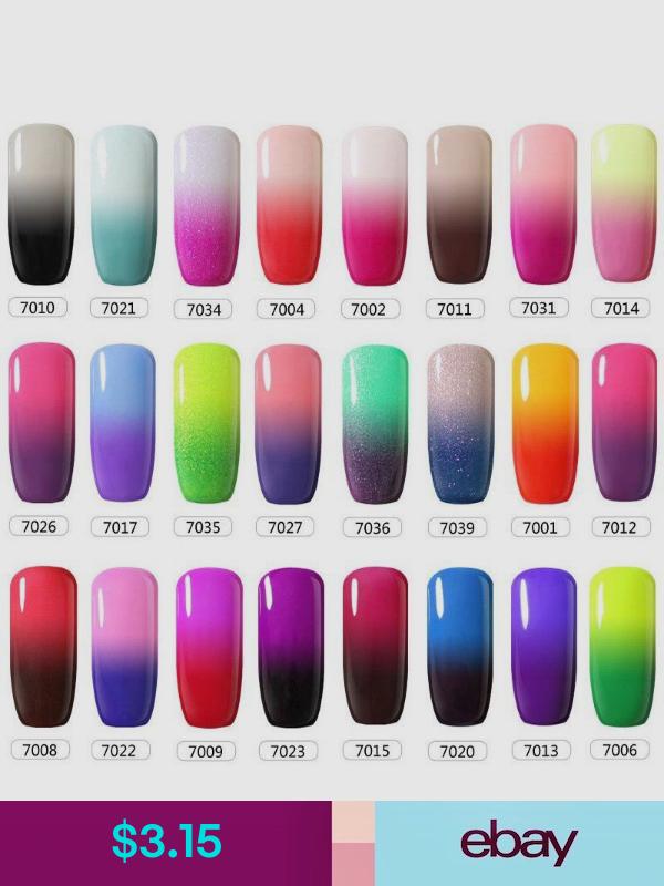 Belle Fille Nail Polishes Ebay Health Beauty Mood Nail Polish Mood Changing Nail Polish Mood Nail Polish Gel