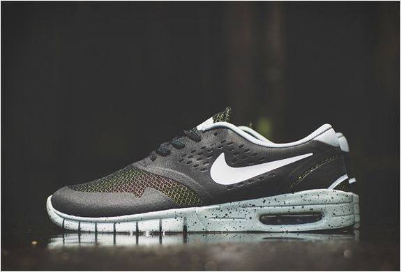 catch huge sale classic fit Nike Sb Koston 2 Max | Black/venom Green | Running shoes for men ...