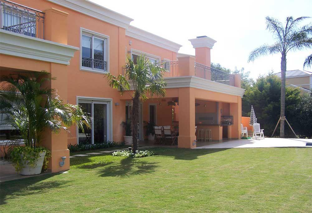 Arquitectos Casas Country Casas pintadas exterior, Casas
