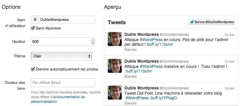Tuto: Comment afficher vos Tweets récents dans votre blog WordPress