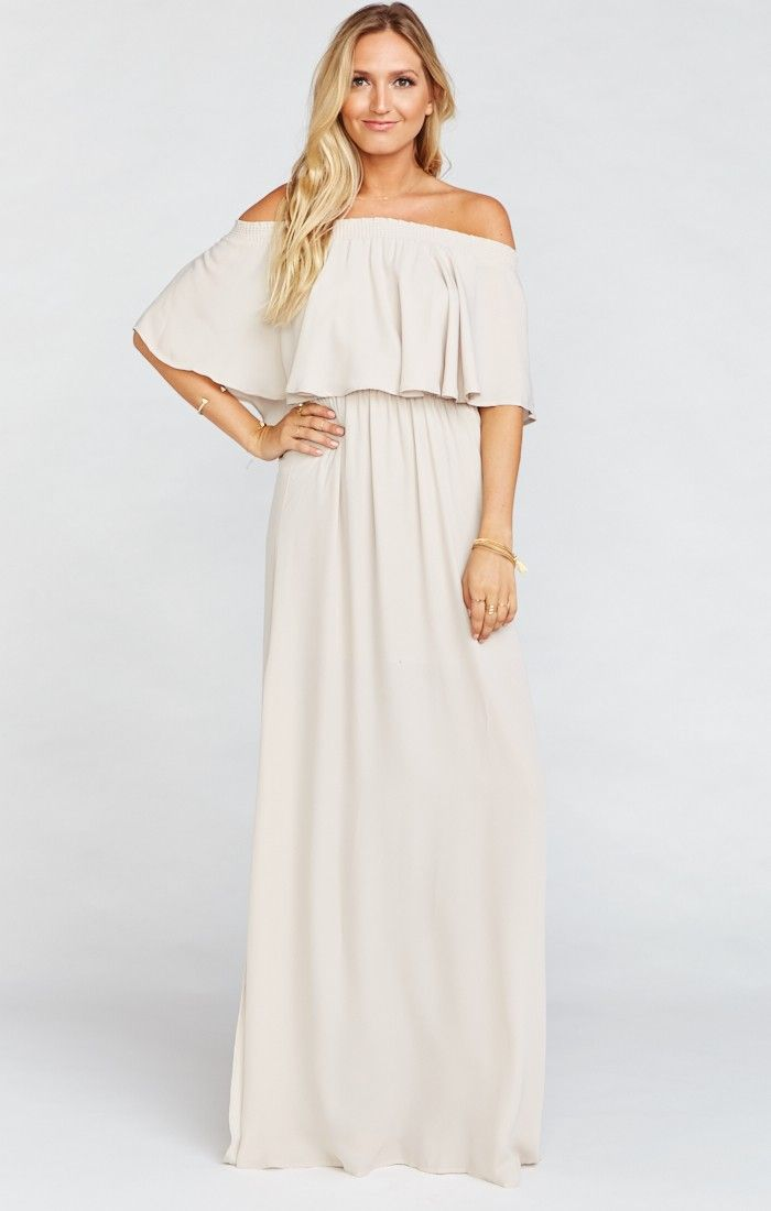 da0c33db248 Hacienda Maxi Dress ~ Show Me the Ring Crisp