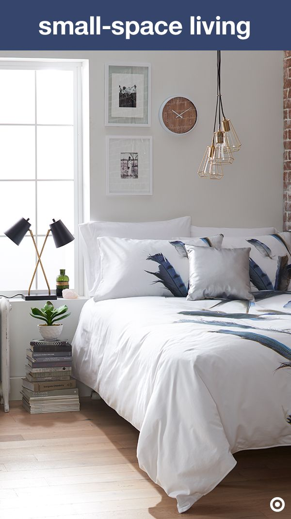 Make the most of a small bedroom with clever and stylish - How to make the most of a small bedroom ...