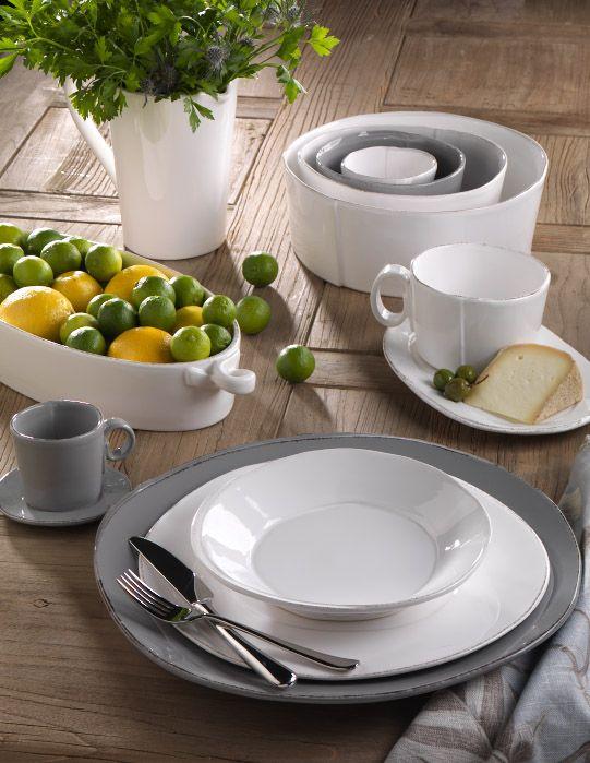 Lastra Gray Stoneware & Lastra Gray Stoneware | Dinnerware/Dish Sets | Pinterest ...